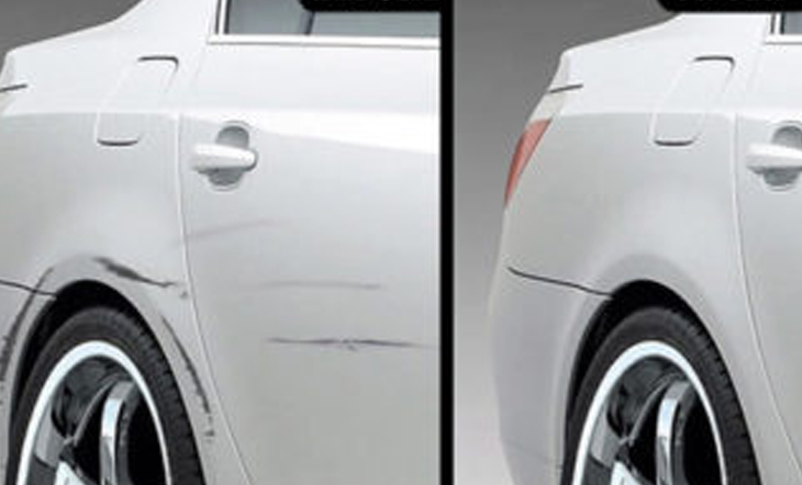 HOW TO FIX A PAINT SCRATCH